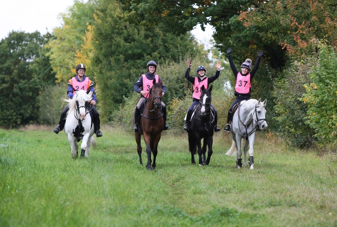 Pentlow Pathfinder (Anglian Distance Riders) - 01.10.17
