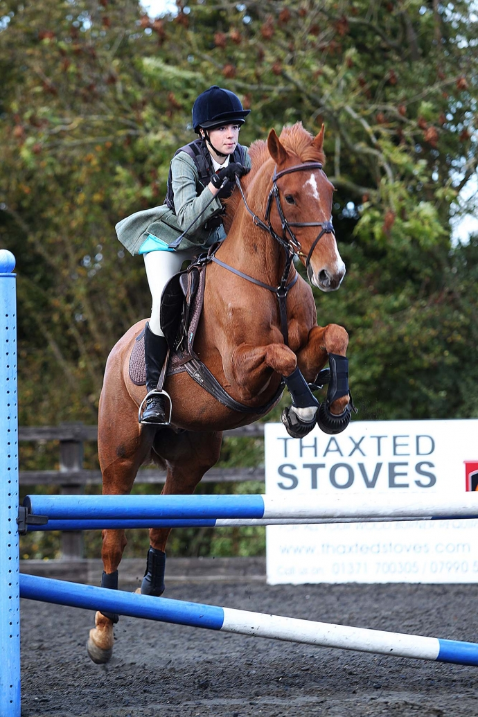 Newmarket & Thurlow P.C. Team & Individual Show-Jumping, Finchingfield E.C. - 21.10.17